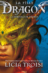 couverture La Fille dragon, Tome 1 : L'Héritage de Thuban