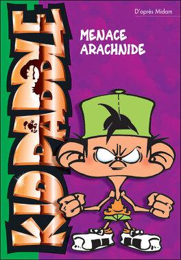Couverture du livre : Kid Paddle, tome 2 : La menace Arachnide (Roman)