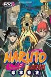 couverture Naruto, Tome 55 : Grande guerre, ouverture des hostilités !