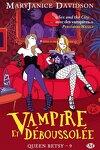 couverture Queen Betsy, Tome 9 : Vampire et Déboussolée