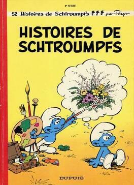 Couverture du livre : Les Schtroumpfs, Tome 8 : Histoires de Schtroumpfs