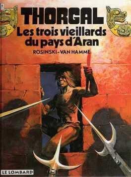 Couverture du livre : Thorgal, tome 3 : Les Trois Vieillards du pays d'Aran