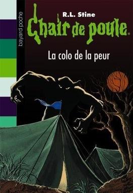 Couverture du livre : Chair de poule, tome 10 : La colo de la peur
