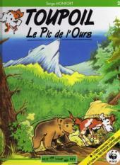 Couverture du livre : TOUPOIL, Le Pic de l'Ours, tome 2