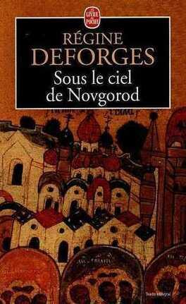 Couverture du livre : Sous le ciel de Novgorod