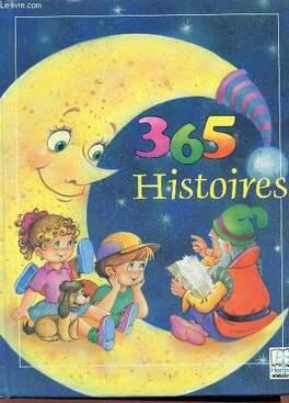 Couverture du livre : 365 histoires