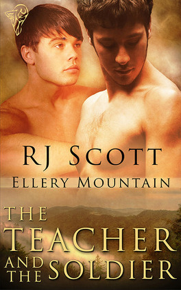 Couverture du livre : Ellery Mountain, Tome 2 : The Teacher and the Soldier
