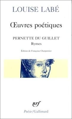 Couverture de Œuvres poétiques