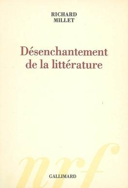 Couverture du livre : Désenchantement de la littérature