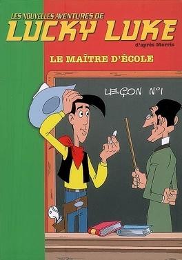 Couverture du livre : Les nouvelles aventures de Lucky Luke : Volume 8, Le maître d'école