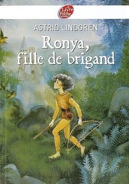 Couverture du livre : Ronya, fille de brigand