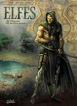 Couverture de Elfes, Tome 2 : L'Honneur des Elfes sylvains