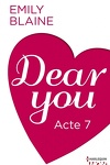 couverture Dear You, Acte 7