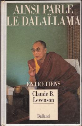 Couverture du livre : Ainsi parle le Dalaï-Lama