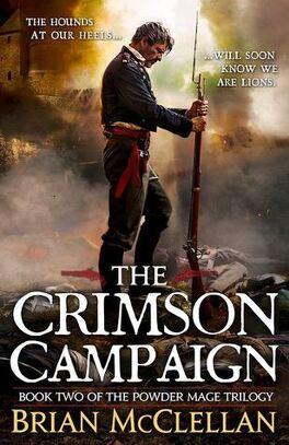 Couverture du livre : Les PoudreMages, Tome 2 : The Crimson Campaign