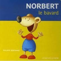 Couverture du livre : Norbert le bavard