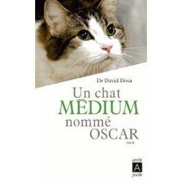 Couverture du livre : Un chat médium nommé Oscar