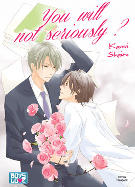 Couverture du livre : You will not seriously ?