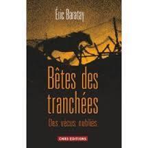Couverture du livre : Bêtes des tranchées : Des vécus oubliés