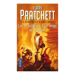 Couverture du livre : Les Annales du Disque-Monde, tome 17 : Les tribulations d'un mage en Aurient