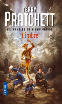 Couverture du livre : Les Annales du Disque-Monde, Tome 30 : Timbré