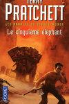 couverture Les Annales du Disque-Monde, tome 25 : Le cinquième éléphant