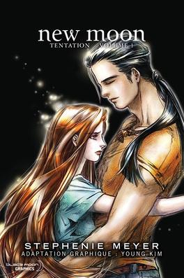 Couverture du livre : Twilight, Tome 2 : Tentation I (Roman graphique)