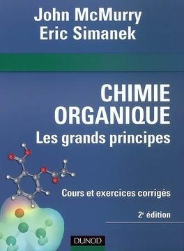 Couverture du livre : Chimie organique : les grands principes
