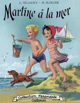 Couverture du livre : Martine à la mer