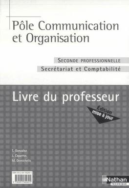 Couverture du livre : Seconde professionnelle, secrétariat et comptabilité : livre du professeur