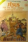 couverture La bible en bande dessinée (Nouveau testament), tome 10 : Jésus fait son repas d'adieu la nuit qu'il est livré