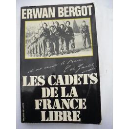 Couverture du livre : Les cadets de la France libre