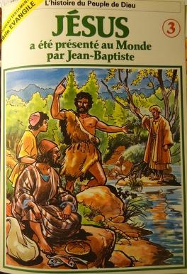 Couverture du livre : La bible en bande dessinée (Nouveau testament), tome 3 : Jésus a été présenté au Monde par Jean-Baptiste