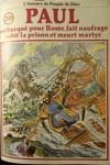 couverture La bible en bande dessinée (Nouveau testament), tome 20 : Paul embarqué pour Rome, fait naufrage, subit la prison et meurt martyr