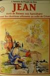 couverture La bible en bande dessinée (Nouveau testament), tome 22 : Jean écrit de Patmos son Apocalypse pour les chrétiens affrontés au culte de César