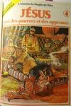 couverture La bible en bande dessinée (Nouveau testament), tome 4 : Jésus, ami des pauvres et des opprimés
