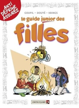 Couverture du livre : Le guide junior des filles
