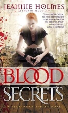 Couverture du livre : Alexandra Sabian, Tome 2 : Blood Secrets
