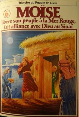 Couverture du livre : La bible en bande dessinée, tome 6 (ancien testament): Moïse libère son peuple à la Mer Rouge, fait alliance avec Dieu au Sinaï
