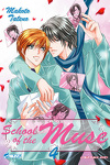 couverture School of the Muse, Tome 4