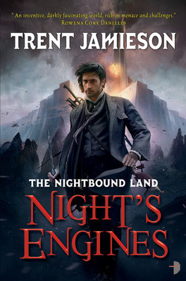 Couverture du livre : The Nightbound Land, Tome 2 : Night's Engines