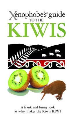 Couverture du livre : Xenophobe's guide to the Kiwis