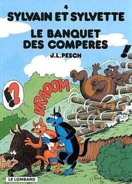 Couverture du livre : Sylvain et Sylvette, Tome 4 : Le Banquet des compères