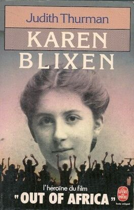 Couverture du livre : Karen Blixen