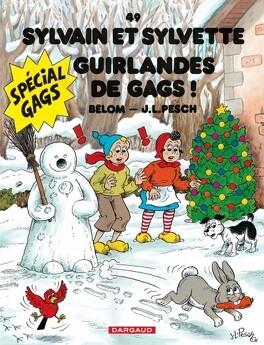Couverture du livre : Sylvain et Sylvette, Tome 49 : Guirlandes de gags !