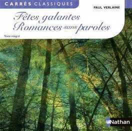 Couverture du livre : Fêtes galantes Romances sans paroles