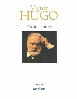 Couverture du livre : Poésies intimes