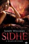 couverture Sidhe, Tome 2 : Éclats de chaos