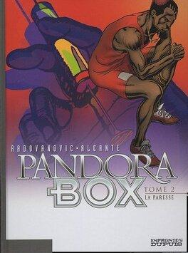 Couverture du livre : Pandora Box, Tome 2 : La paresse