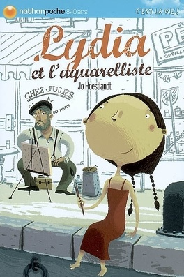 Couverture du livre : Lydia et l'aquarelliste